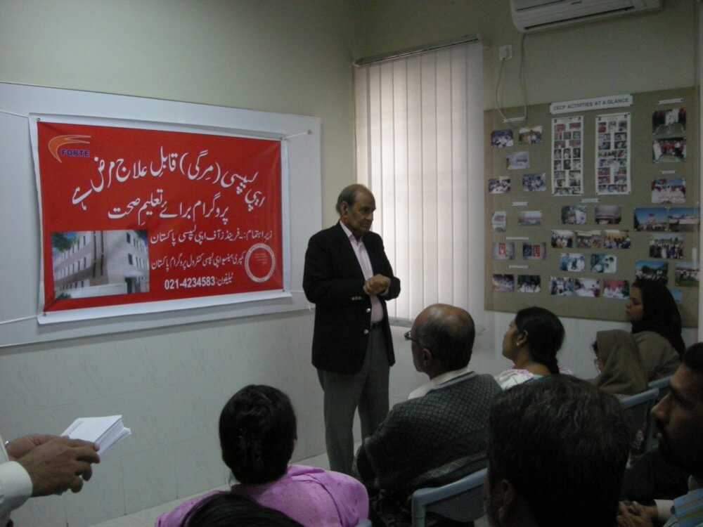 PCP Workshop at Karachi