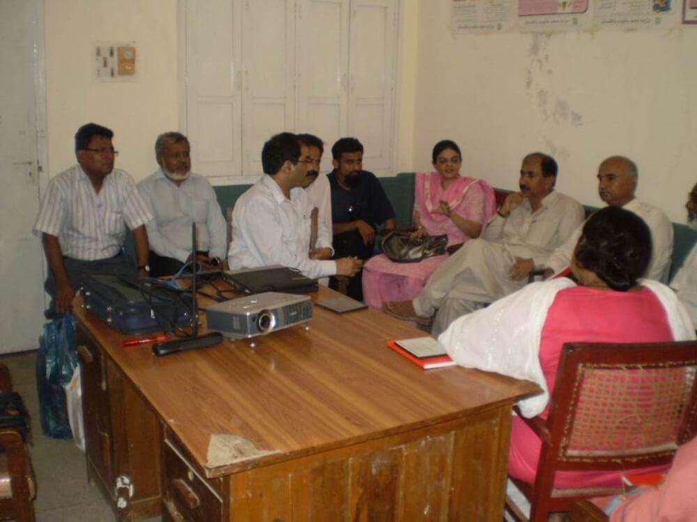 PCP workshop at Thatta