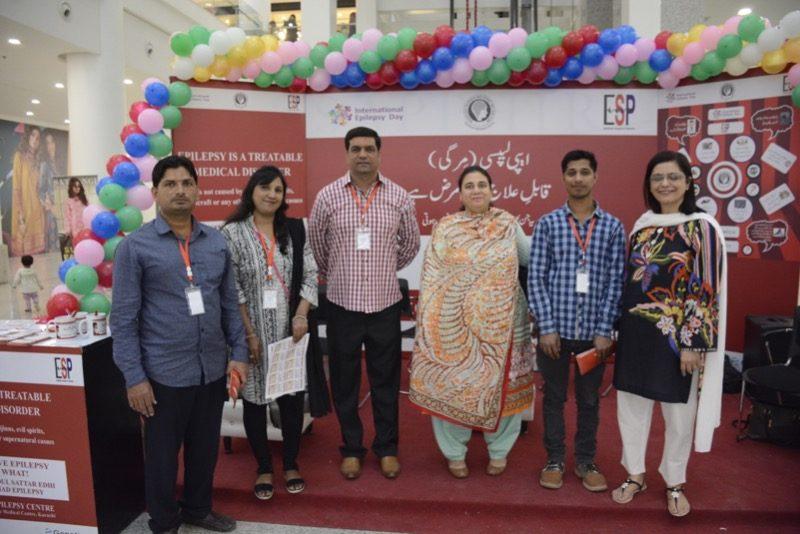 International Epilepsy Day – Public Awareness at Karachi's Largest Shopping Mall