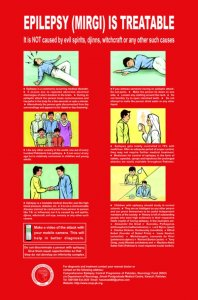 Epilepsy Awareness Poster-English